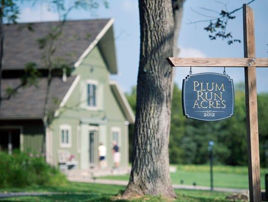 Mark Boyer named the 42-acre homestead Plum Run Acres.