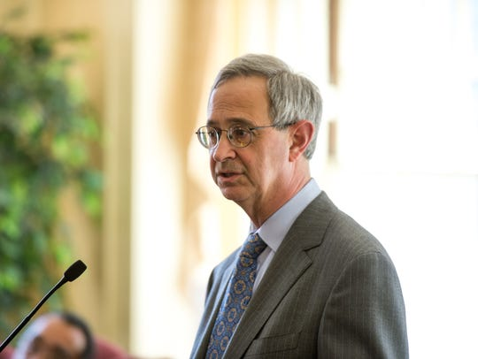 University of Rochester President Joel Seligman, shown
