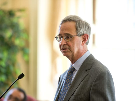 University of Rochester President Joel Seligman, shown