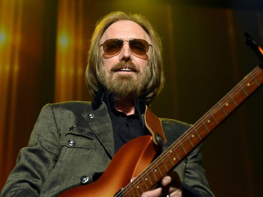 Tom Petty in February 2017 in Los Angeles.
