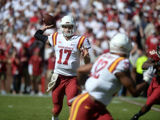 NCAA Football: Iowa State at Oklahoma