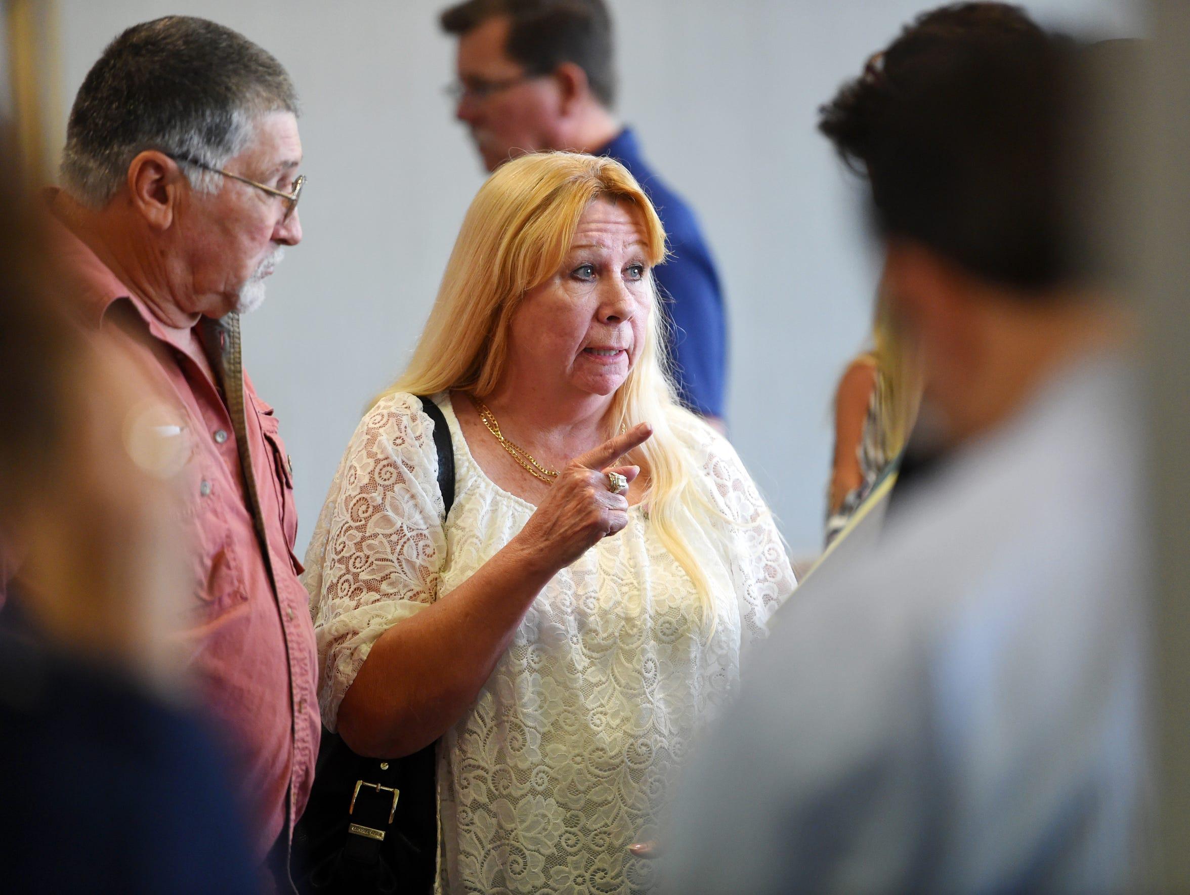 George Halstead, of Vero Beach, and Sandy Gillman,