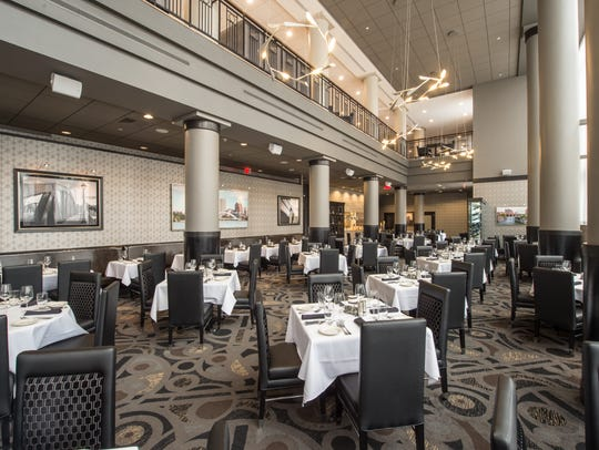 Morton's The Steakhouse in in the Hyatt downtown has