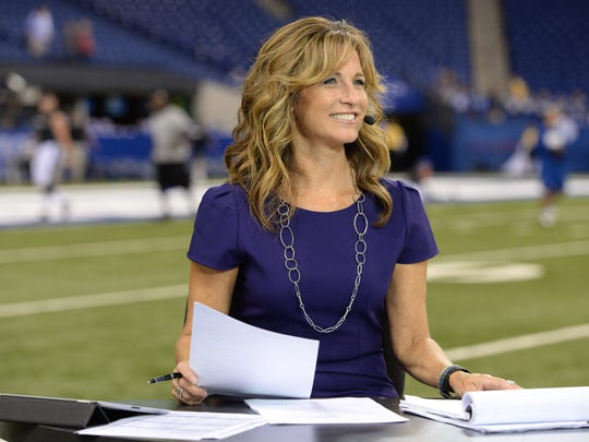 """""""Monday Night Countdown"""" host Suzy Kolber says of the show's analysts — Charles Woodson, Matt Hasselbeck, Randy Moss and Steve Young — Moss is the one most likely to crack her up off camera. """"His personality is very off the wall. You never quite know what to expect."""""""