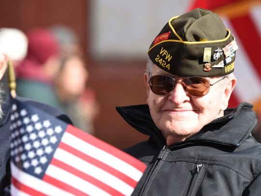 Scenes from Staunton 2017 Veterans Day Parade downtown,
