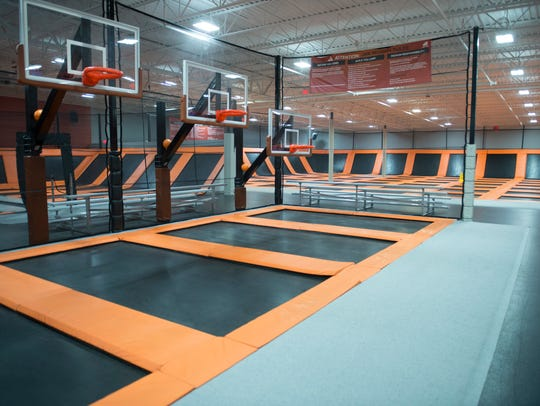 AirTime Trampoline & Game Park is in a former big-box