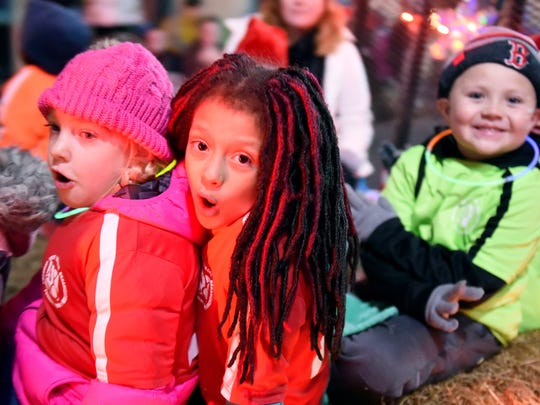Scenes from the 2017 Staunton Christmas Parade, Monday,
