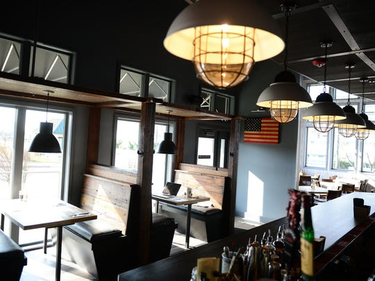 The interior of the newly opened Dry 85 on 48th Street in Ocean City is shown.