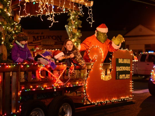 Delaware Backwoods Outlaws brought the Grinch during