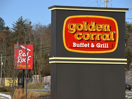 Golden Corral exteriors