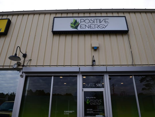 Positive Energy dispensary, located in West Ocean City,
