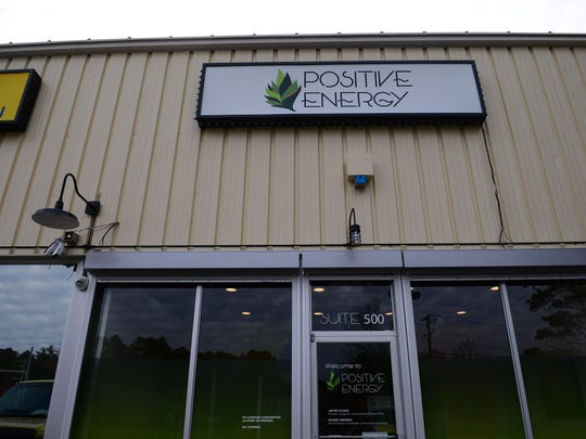 Positive Energy dispensary, located in West Ocean City, hopes to open its doors in late January 2018.  Friday, Dec. 23, 2017.