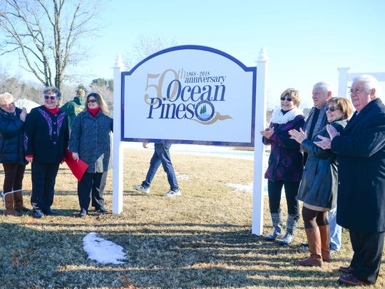 Members of the Ocean Pines 50th Anniversary committee