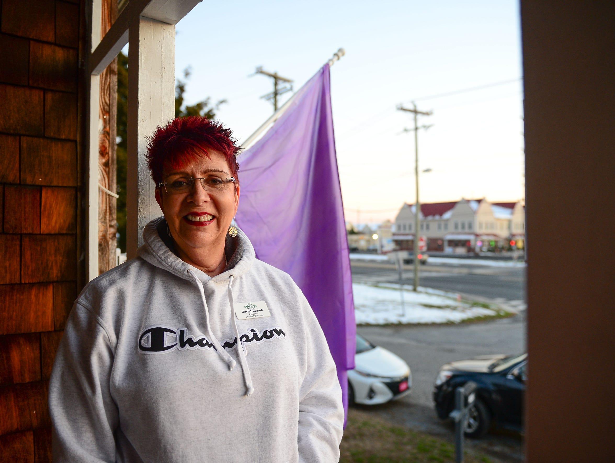 Janet Idema, Board of Directors, The Immanuel Shelter