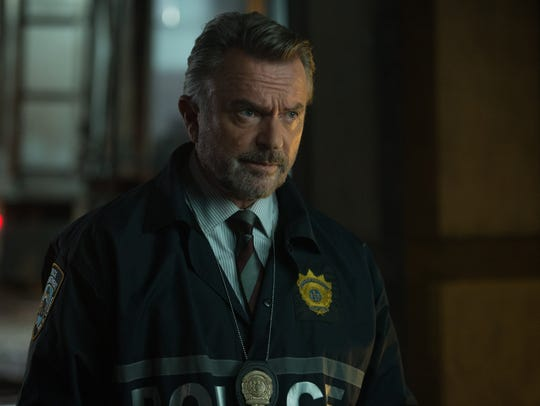 "Sam Neill stars in ""The Commuter."""