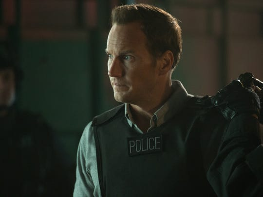 "Patrick Wilson stars in ""The Commuter."""