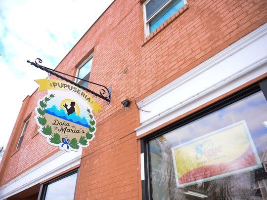 Dona Maria's Pupuseria in Seaford, Del.
