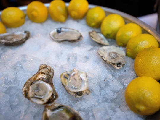 Oysters at Jax Fish House, 123 N. College Ave.