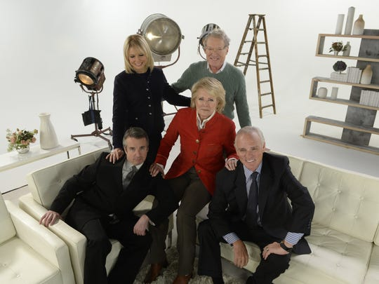 CBS' journalism sitcom 'Murphy Brown' is coming back: The network announced Wednesday, Jan. 24, that it is reviving the journalism sitcom for 13 episodes, 20 years after it signed off. Click forward to reacquaint yourself with the show's characters, see where they left off and learn what the actors have been up to since 1998. (From left: Grant Shoud, Faith Ford Candice Bergen, Charles Kimbrough and Joe Regalbuto)