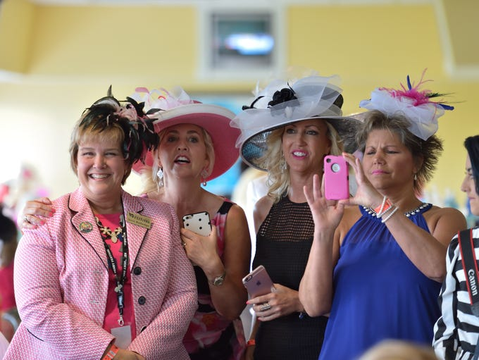 Kentucky Derby Festival Celebrity Day at the Downs