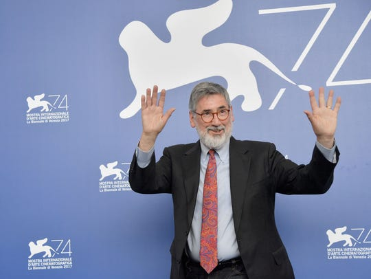 Director John Landis at the 74th Venice Film Festival