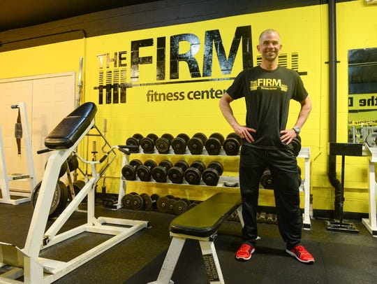 Paul Timmons, Owner, The Firm Fitness Center located