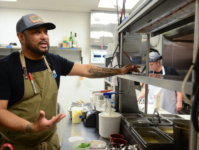 Matt's Fish Camp Maurice Catlett, Executive Chef, talks