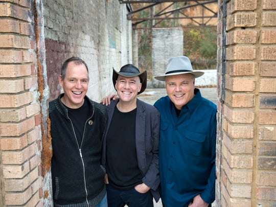 The Three Davids are, from left, David Wilcox, David
