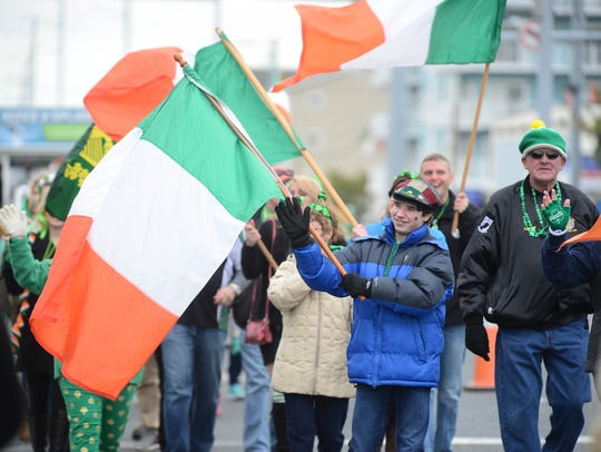 Colors of Ireland fill the streets during the Delmarva-Irish