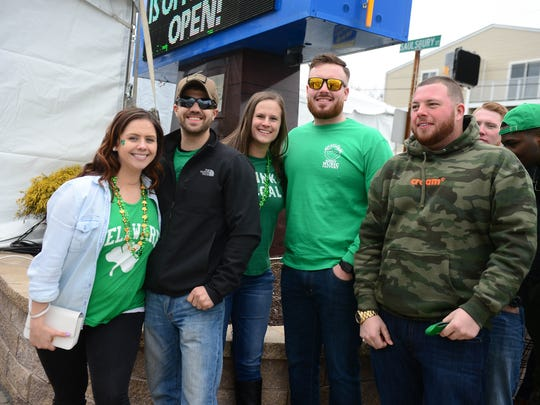 Opening weekend for The Starboard during its St. Patricks