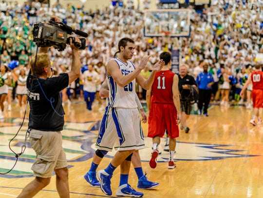 After Chase Fieler and his FGCU teammates went to