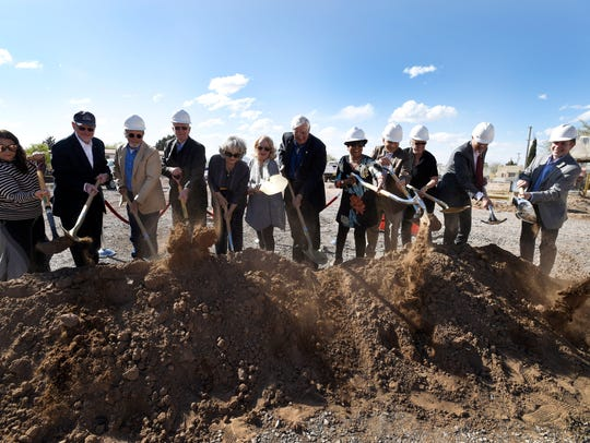 Groundbreaking ceremony of the new Art Building and