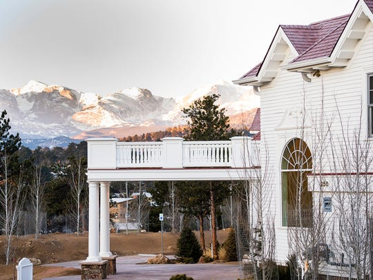 The Stanley Hotel of Estes Park hosts a weekend dinner