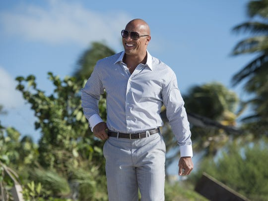 "HBO's ""Ballers"" is led by Dwayne Johnson, who plays"
