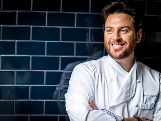 Celebrity chef Scott Conant, popularly known for his