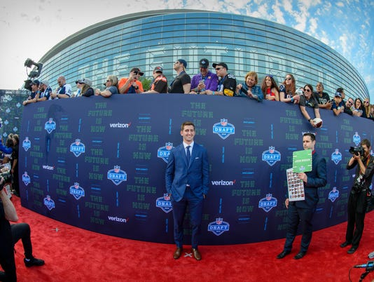 NFL: NFL Draft-Red Carpet Arrivals