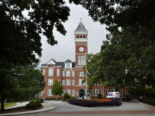 Tillman Hall (Old Main) is set to receive $10 million in renovations if phase 1 is approved by the full Clemson Board of Trustees on Friday, Feb. 7, 2020.