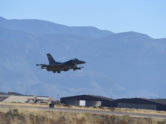 F-16 night training