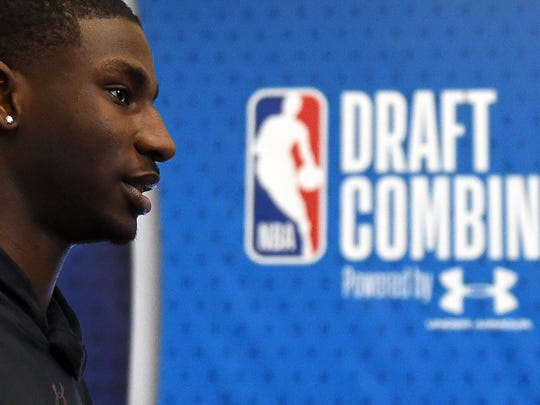 Jaren Jackson is expected to be one of the top five picks in this year's NBA Draft on June 21. Miles Bridges is also a projected lottery pick.