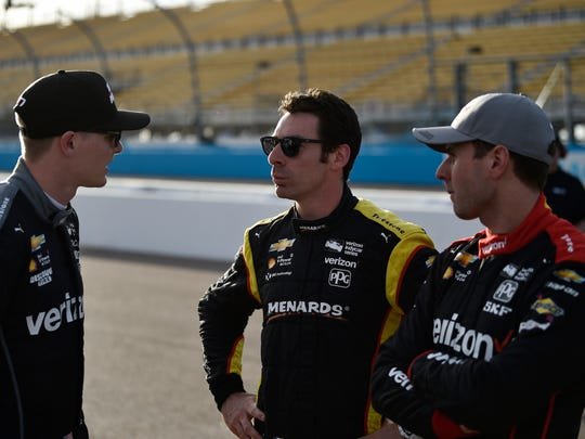 With three champions on one team, Team Penske has emerged