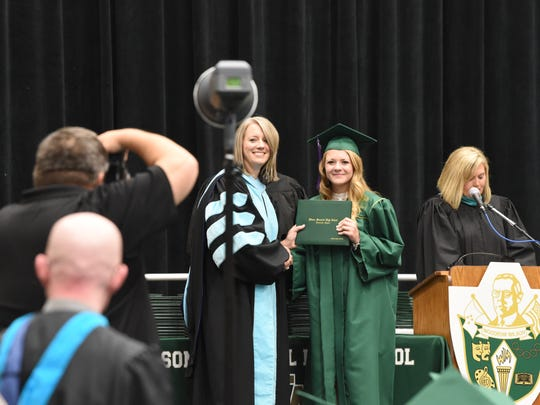 Scenes from the 2018 Commencement Ceremony for Wilson