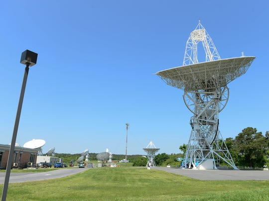 The oldest satellite at the National Oceanic and Atmospheric Administration located in Wallops, Va. on Thursday, May 24, 2018.