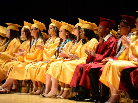 Washington High School held their commencement ceremony