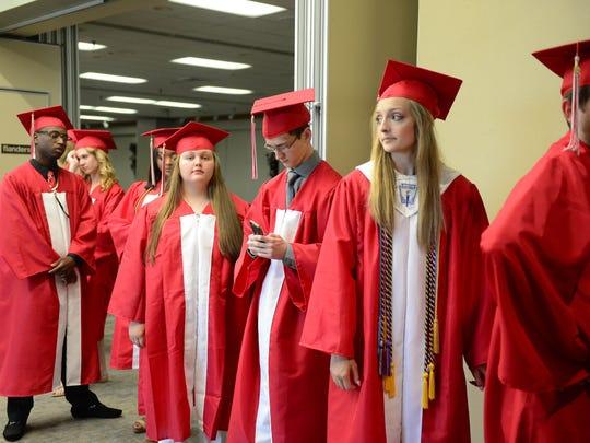 James M. Bennett High School held its Commencement
