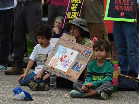 Stop Torturing Children Rally