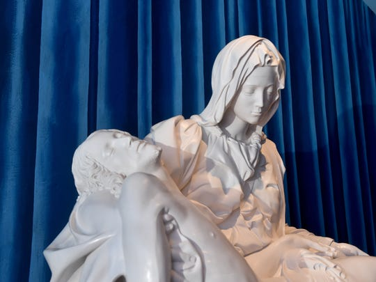 Mission San Buenaventura has received a Vatican-authorized copy of Michelangelo's Pietà, which will be dedicated during an unveiling service at the mission on Sunday, July 8.