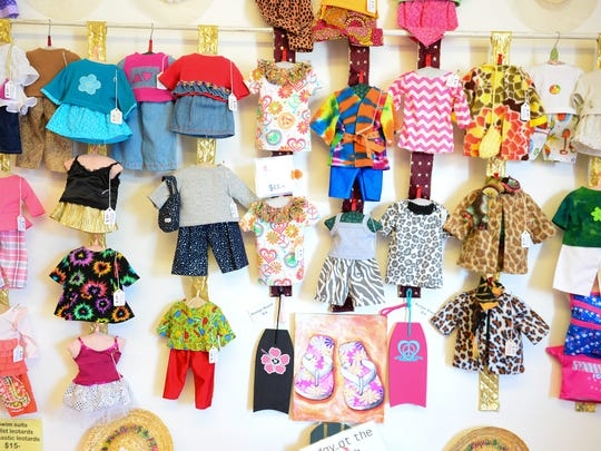 The Doll Clothes Cottage is located on Savannah Rd.