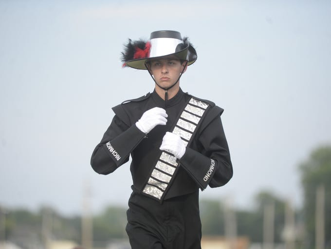 Richmond's marching band placed fifth Saturday night