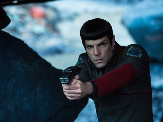 Zachary Quinto has starred as Spock in three movies, most recently 2016's 'Star Trek: Beyond.'