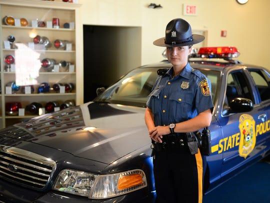Delaware State Police Trooper Irina Celpan, originally